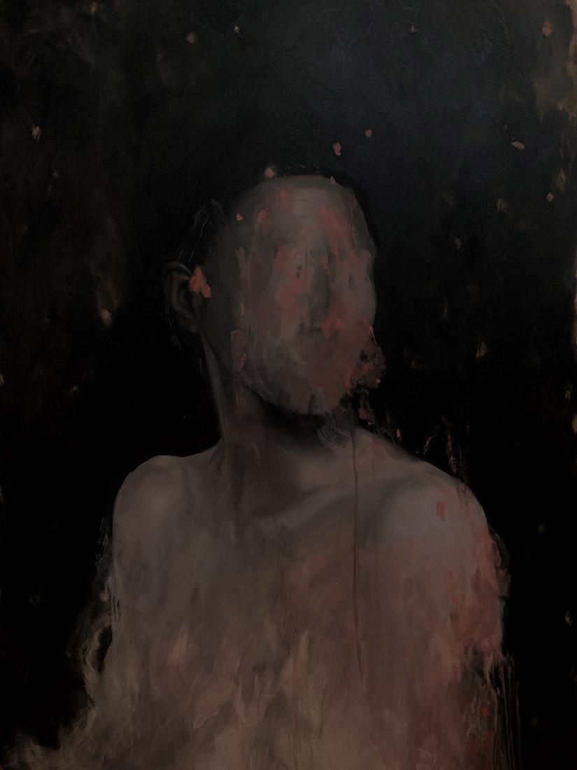 Lia Kimura. Olej, 140x100cm, 2019