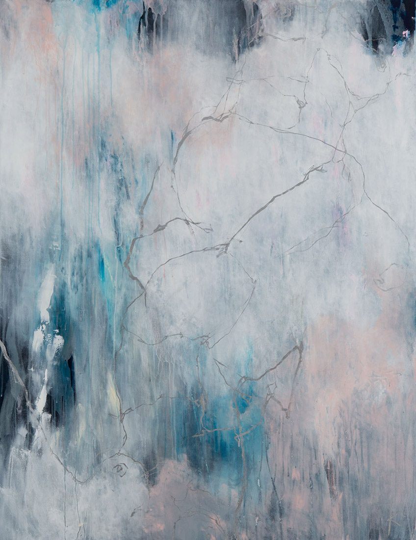 Lia Kimura. Acrylic on stretched canvas, 130x100cm, 2019