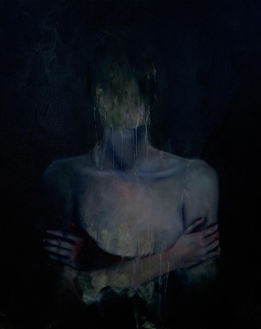 Lia Kimura. Olej, 100x81cm, 2019