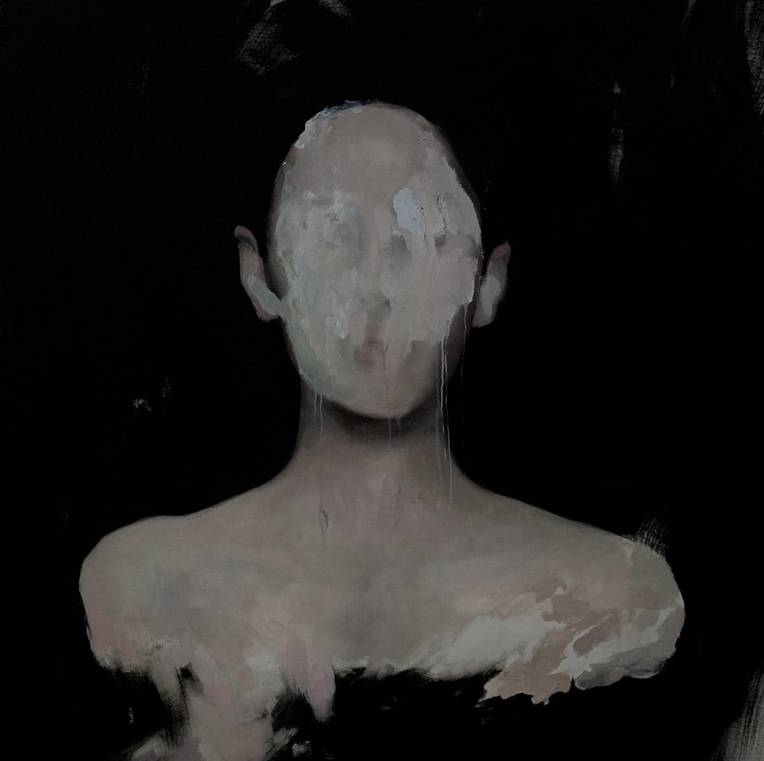 Lia Kimura. Olej, 80x80cm, 2019