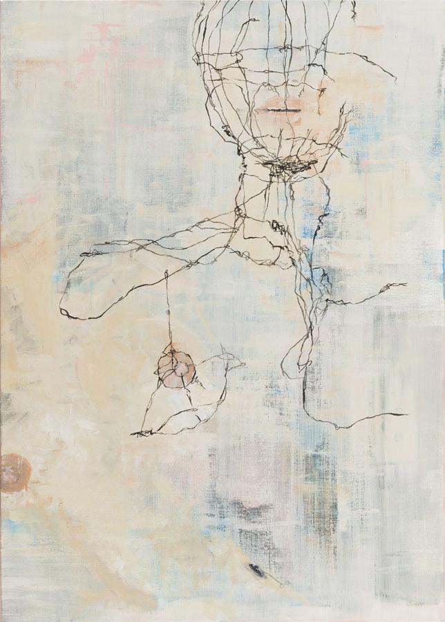 Lia Kimura. Acrylic on stretched canvas, 80x60cm, 2016